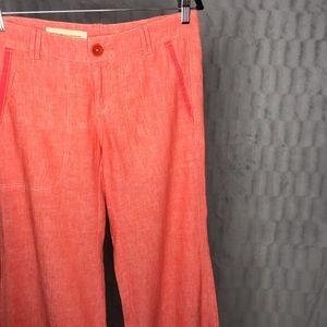 Anthropologie Pilcro & the Letterpress Linen Pants